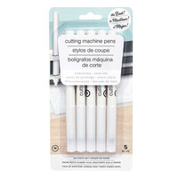 American Crafts - Cutting Machine Pens - Embossing - Medium Tip - Clear