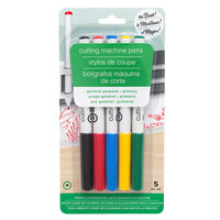 American Crafts - Cutting Machine Pens - General Purpose - Medium Tip - Primary