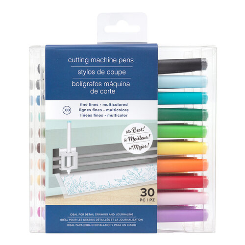 American Crafts - Cutting Machine Pens - Fine Lines - Multicolor