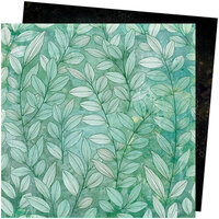 American Crafts - Wildflower and Honey Collection - 12 x 12 Double Sided Paper - Greenery