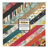 American Crafts - Wildflower and Honey Collection - 12 x 12 Paper Pad