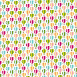American Crafts - City Park Collection - 12 x 12 Double Sided Paper with Glitter Accents - High Line Park, CLEARANCE