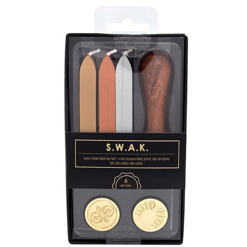 American Crafts - S.W.A.K. - Wax Seal Kit - Flourish