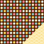 American Crafts - Confetti Collection - 12 x 12 Double Sided Paper - Betty Bundt