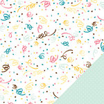 American Crafts - Confetti Collection - 12 x 12 Double Sided Paper - Darbie Devil's Food