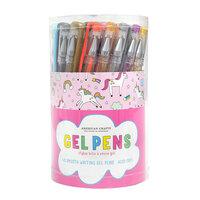 American Crafts - Office - 48 Piece - Unicorn Tube Gel Pens