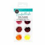 American Crafts - Color Pour Collection - Foil Flakes - Warm