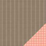 American Crafts - Peachy Keen Collection - 12 x 12 Double Sided Paper - Nifty