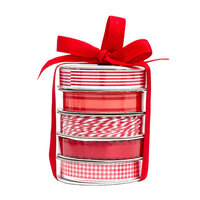 American Crafts - Premium Ribbon Spool - Red - 5 Piece