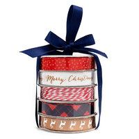 American Crafts - Premium Ribbon Spool - Classic Christmas - 5 Piece
