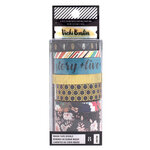 American Crafts - Wildflower and Honey Collection - Washi Tape Set with Gold Holographic Foil Accents