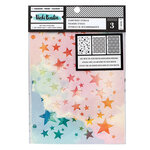 American Crafts - Let's Wander Collection - 8.5 x 6 Stencil Pack - Starstruck