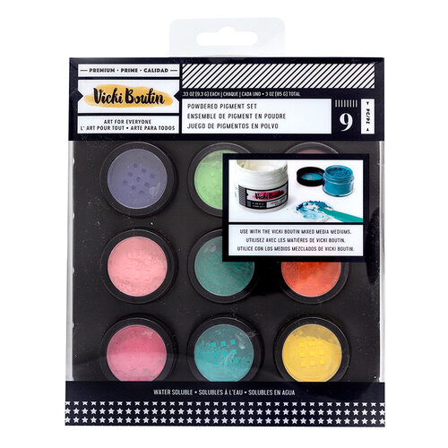 American Crafts - Wildflower and Honey Collection - Medium - Dry Powder Paint Pigments