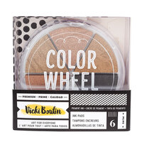 American Crafts - Wildflower and Honey Collection - Medium - Ink Pad - Metallic