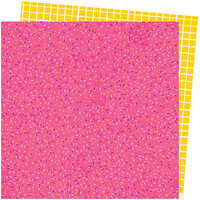 American Crafts - Slice Of Life Collection - 12 x 12 Double Sided Paper - Sprinkle Confetti