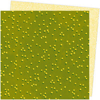 American Crafts - Slice Of Life Collection - 12 x 12 Double Sided Paper - Fields of Gold