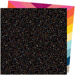 American Crafts - Slice Of Life Collection - 12 x 12 Double Sided Paper - The Universe