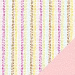 American Crafts - Hello Sunshine Collection - 12 x 12 Double Sided Paper - Gleam