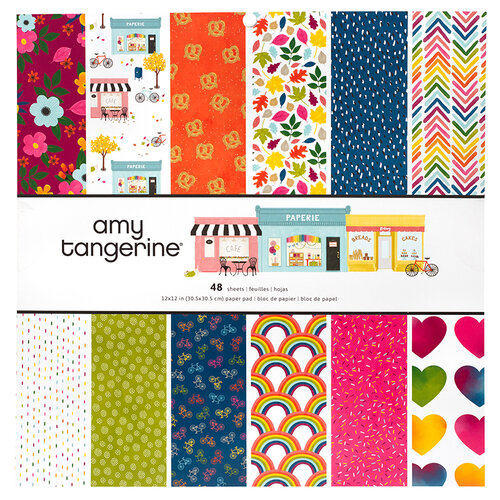 American Crafts - Slice Of Life Collection - 12 x 12 Paper Pad