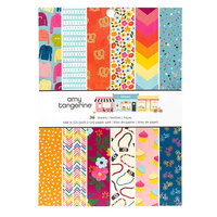 American Crafts - Slice Of Life Collection - 6 x 8 Paper Pad
