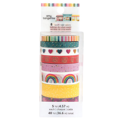 American Crafts - Slice Of Life Collection - Washi Tape Pack