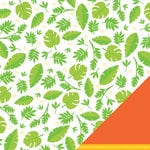 American Crafts - Margarita Collection - 12 x 12 Double Sided Paper with Glitter Accents - Mojito