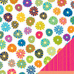 American Crafts - Margarita Collection - 12 x 12 Double Sided Paper - Cha-Cha