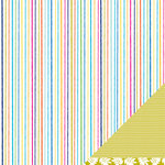 American Crafts - Margarita Collection - 12 x 12 Double Sided Paper - Santo Domingo