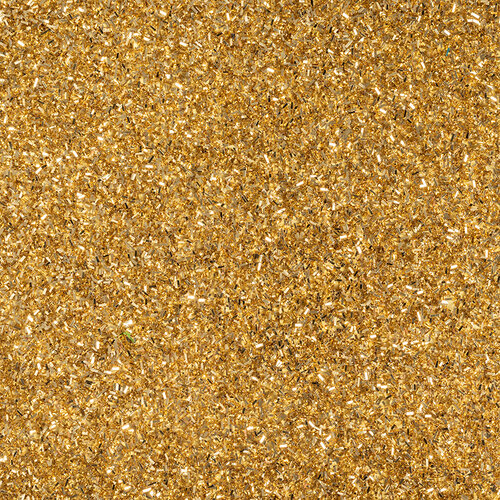 American Crafts - 12 x 12 Specialty Paper - Glitter - Tinsel - Gold