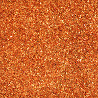 American Crafts - 12 x 12 Specialty Paper - Glitter - Tinsel - Carrot