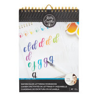 Kelly Creates - Watercolor Brush Lettering Collection - Script Lettering Workbook