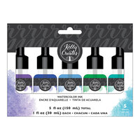 Kelly Creates - Watercolor Brush Lettering Collection - Liquid Watercolor - Set 2