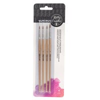 Kelly Creates - Watercolor Brush Lettering Collection - Round Brush Set