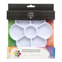 Kelly Creates - Watercolor Brush Lettering Collection - Plastic Palette with Pipettes