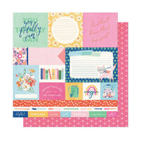 American Crafts - She's Magic Collection - 12 x 12 Double Sided Paper - You Totally Can