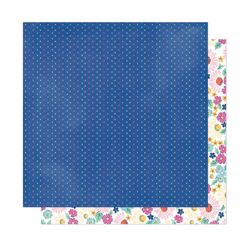 American Crafts - She's Magic Collection - 12 x 12 Double Sided Paper - Sparkle