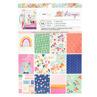 American Crafts - She's Magic Collection - 6 x 8 Paper Pad with Holographic Foil Accents