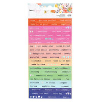 Dear Lizzy - She's Magic Collection - Confetti Stickers with Iridescent Foil Accents