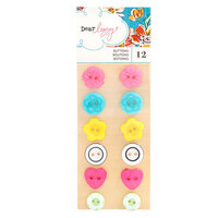 American Crafts - She's Magic Collection - Embellishments - Buttons
