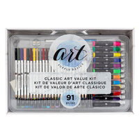 American Crafts - Art Supply Basics Collection - Classic Art Kit