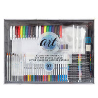 American Crafts - Art Supply Basics Collection - Studio Art Kit