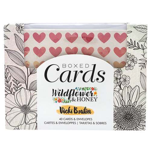 American Crafts - Wildflower and Honey Collection - Boxed Cards