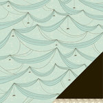 American Crafts - Nightfall Collection - Halloween - 12 x 12 Double Sided Paper - Night Crawler