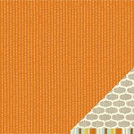 American Crafts - Nightfall Collection - Halloween - 12 x 12 Double Sided Paper - Autumn Hollow