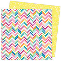 American Crafts - Write At Home Collection - 12 x 12 Double Sided Paper - All Tiled Up