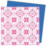American Crafts - Write At Home Collection - 12 x 12 Double Sided Paper - Hang In There Baby