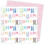 American Crafts - Write At Home Collection - 12 x 12 Double Sided Paper - Perfect Pairs