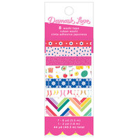 American Crafts - Write At Home Collection - Washi Tape with Glitter Accents