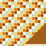 American Crafts - Nightfall Collection - Halloween - 12 x 12 Double Sided Paper - Fall Colors