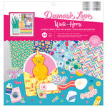American Crafts - Write At Home Collection - 12 x 12 Project Pad with Foil Accents